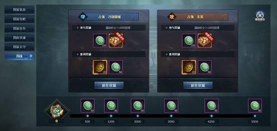 《三国群英传》国家系统玩法介绍