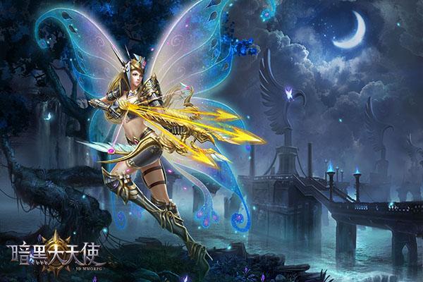 新版本资料片更新 《暗黑大天使》天使套装登场
